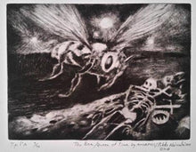 Load image into Gallery viewer, Amorphis/The Bee/Queen of Time/Etching