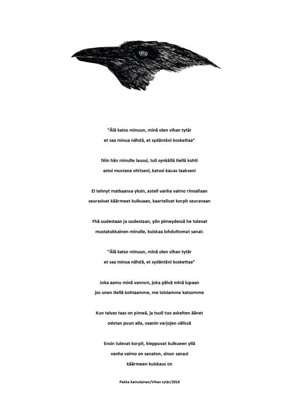First Come the Ravens/Ensin tulevat korpit / Print [Digital Download]