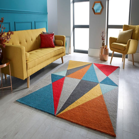 Infinite Diamonds Rug