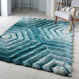 Verge Hexagon Rug