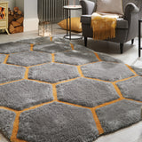Verge Honeycomb Rug