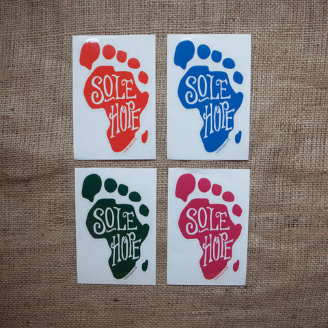 Foot Sticker