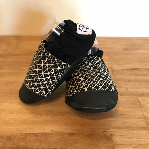 Geometric Baby Shoes