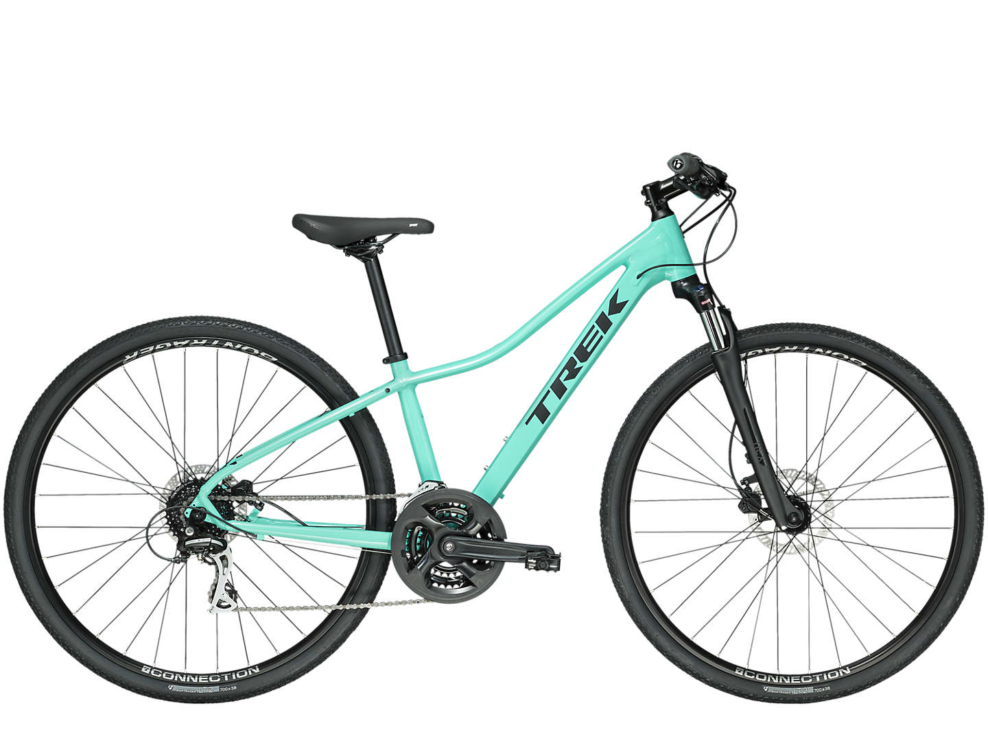 Trek Dual Sport 2 Womens Specific Design WSD Hybrid Bike