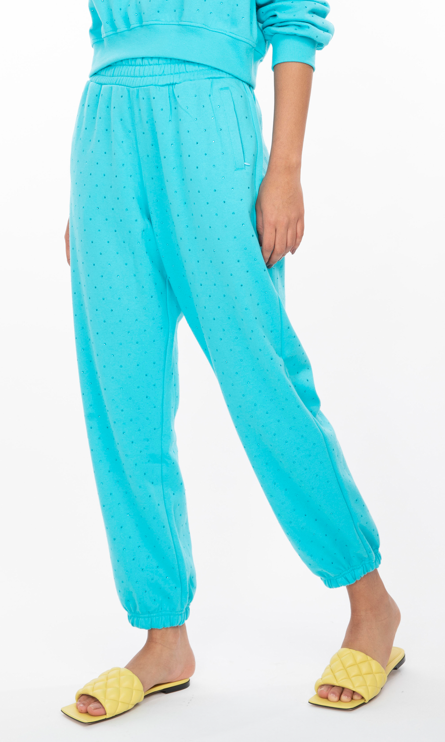Rena Crystal Sweatpants