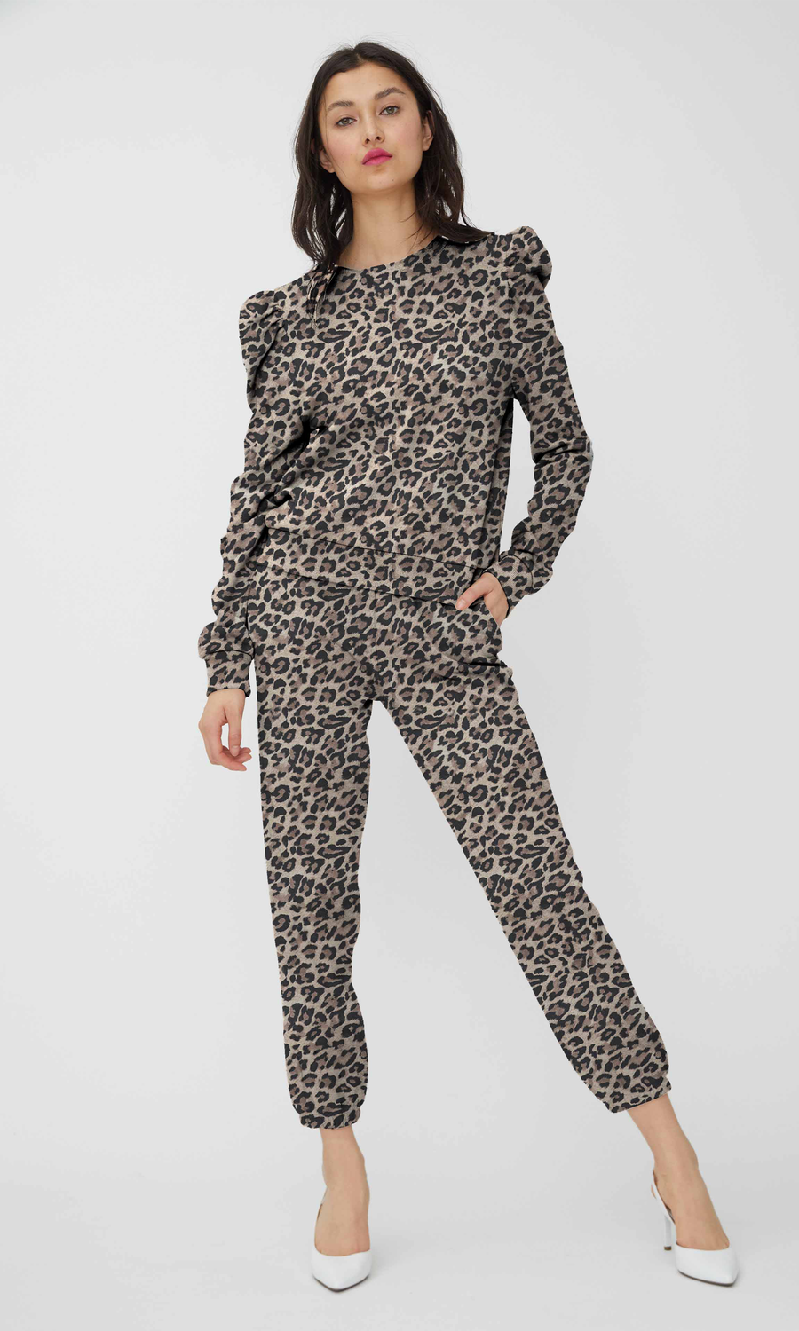 Lionel Leopard Sweatpants