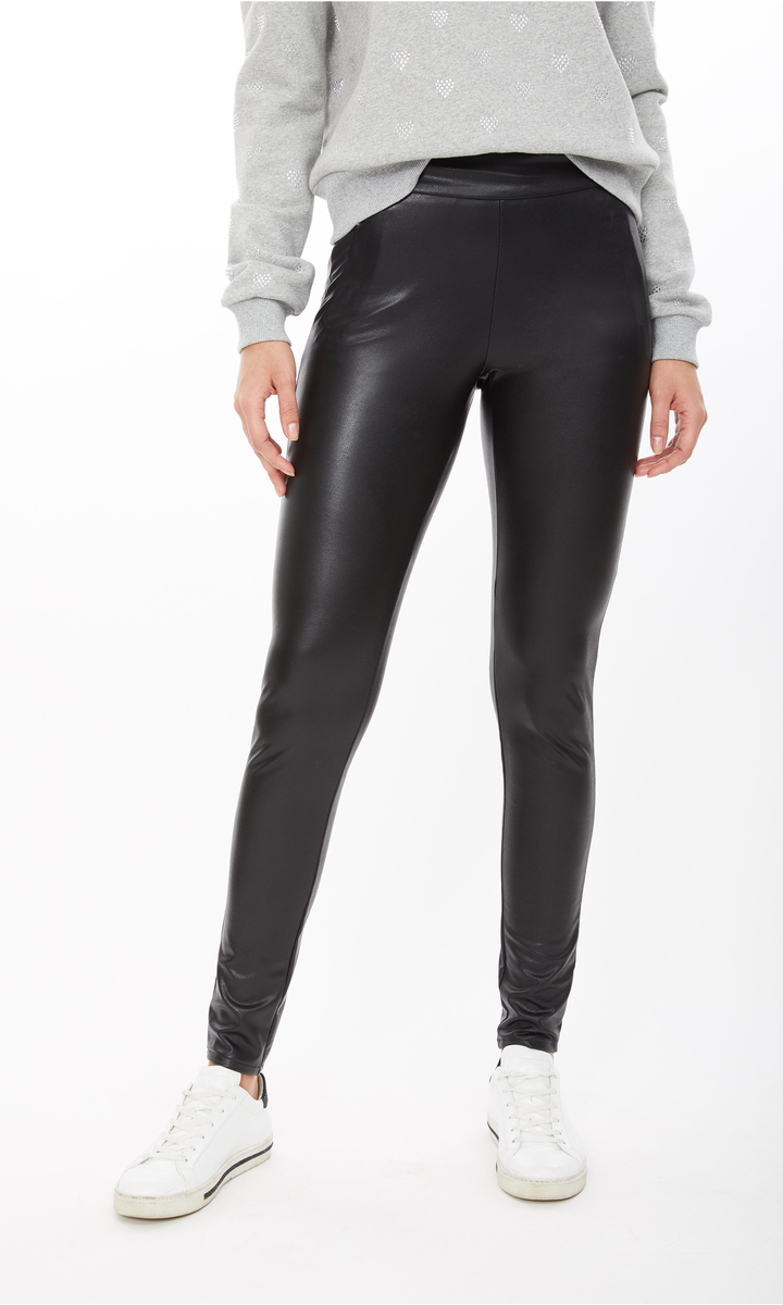 Tyra Vegan Leather Leggings
