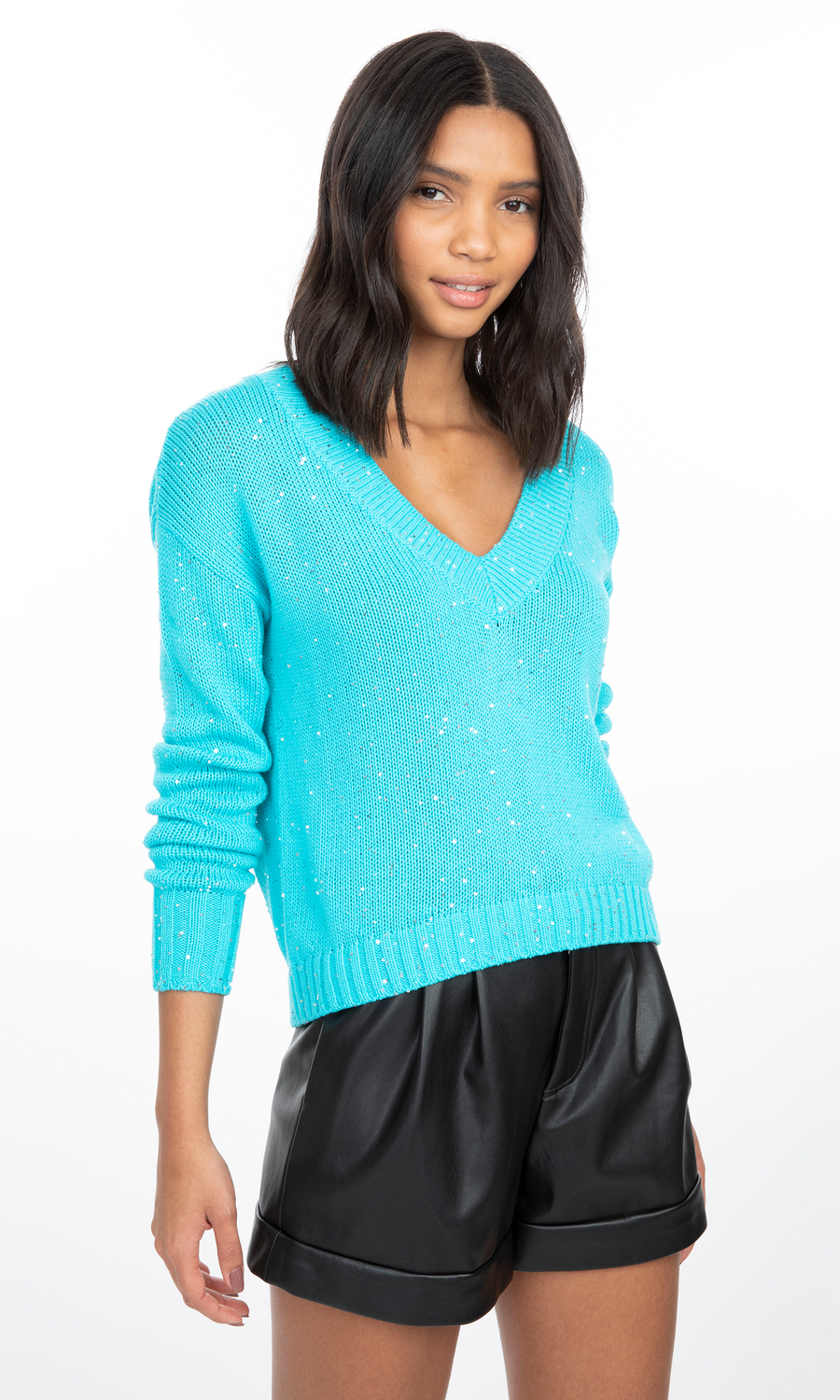 Raissa Sequin Sweater