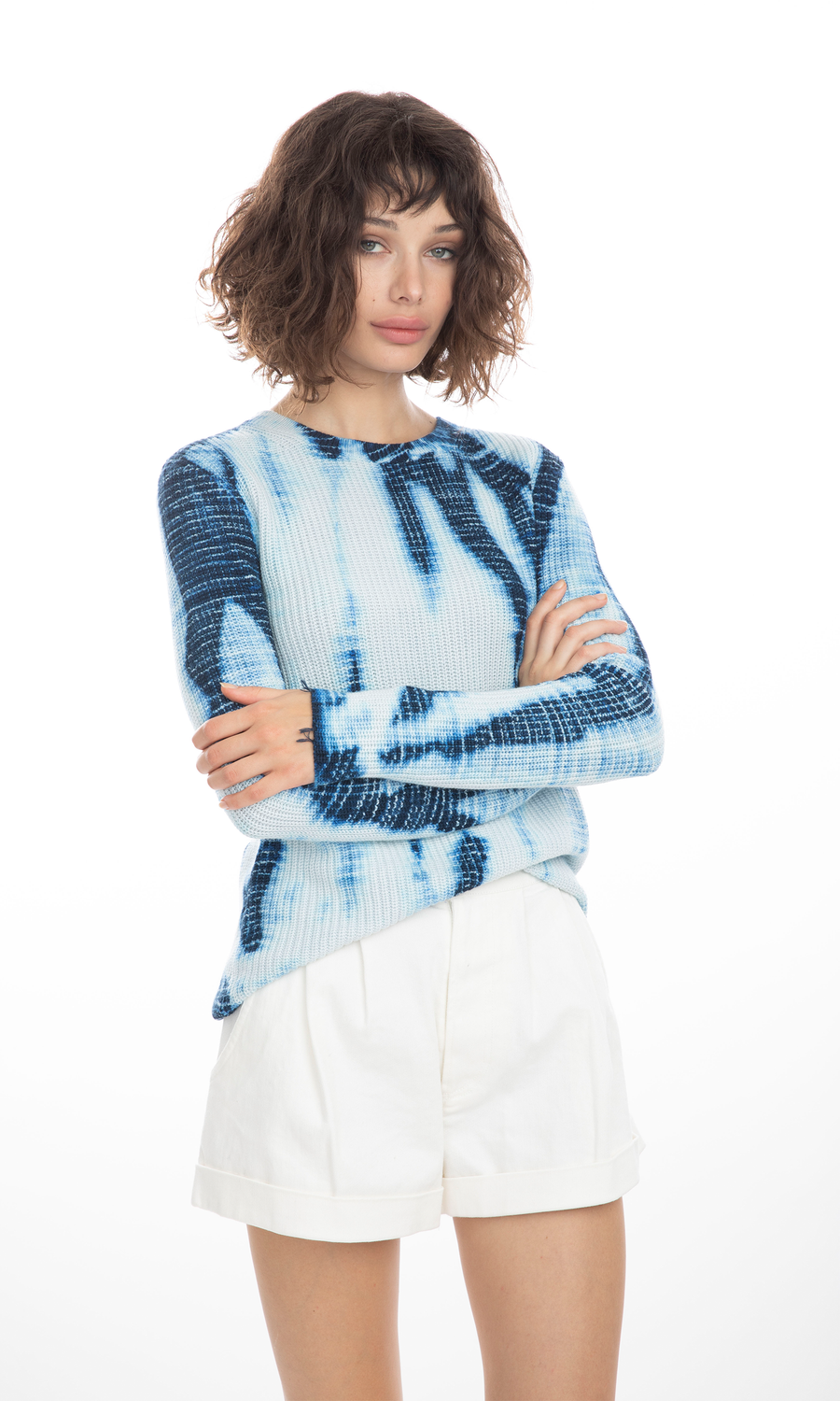 Margot Indigo Sweater