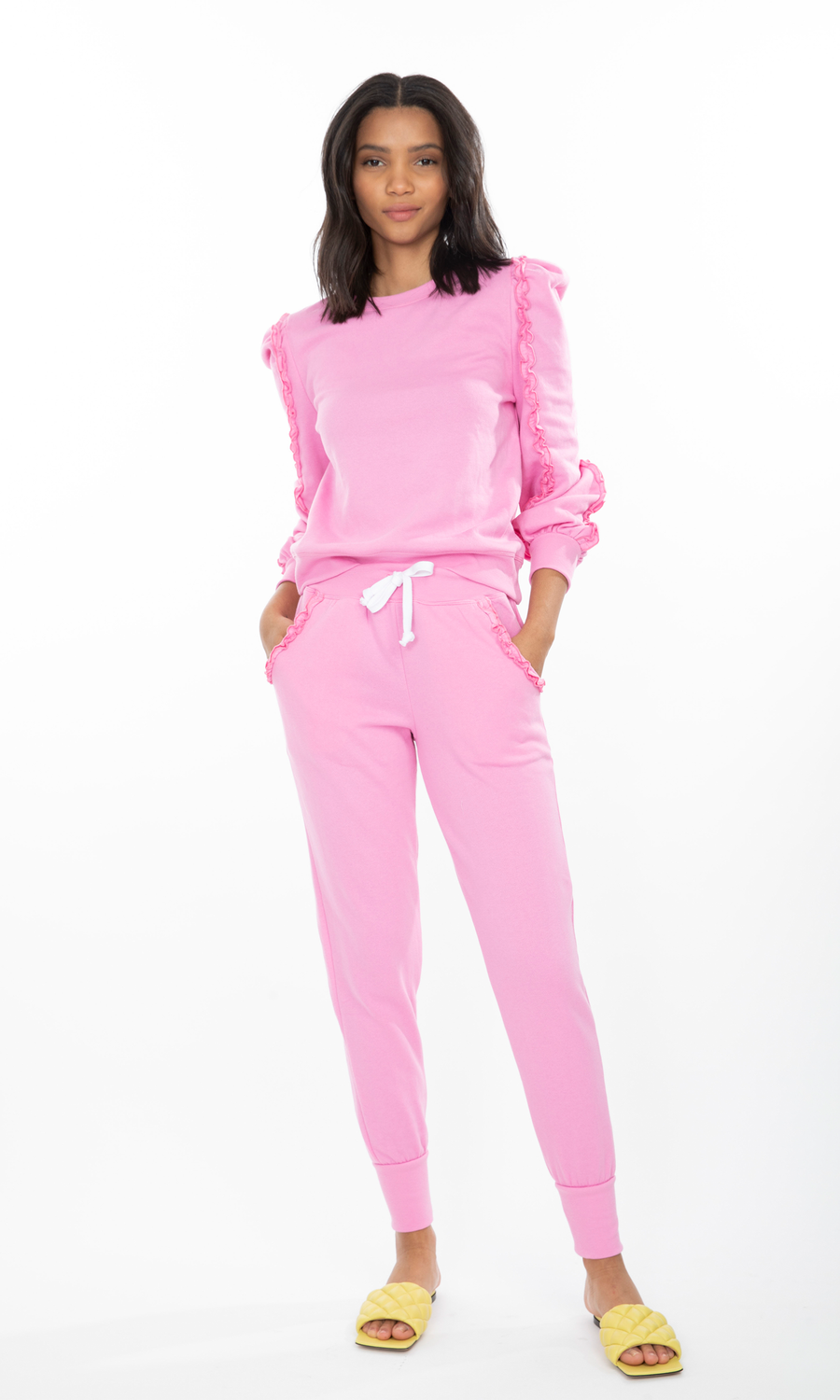 Asta Ruffle Sweatpants