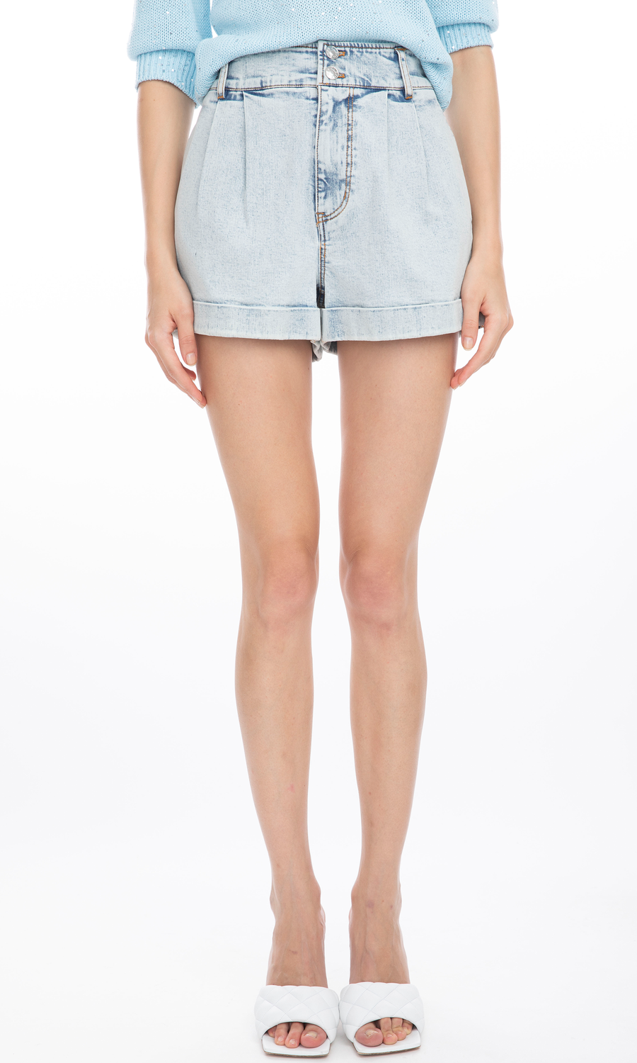 Mona Denim Shorts