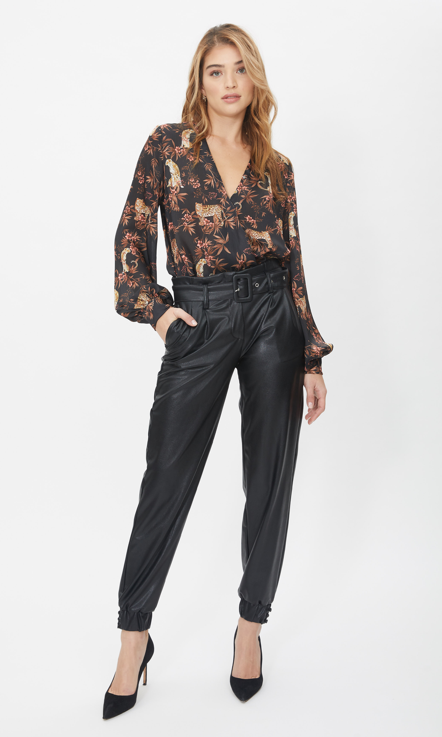 Danika Vegan Leather Pants