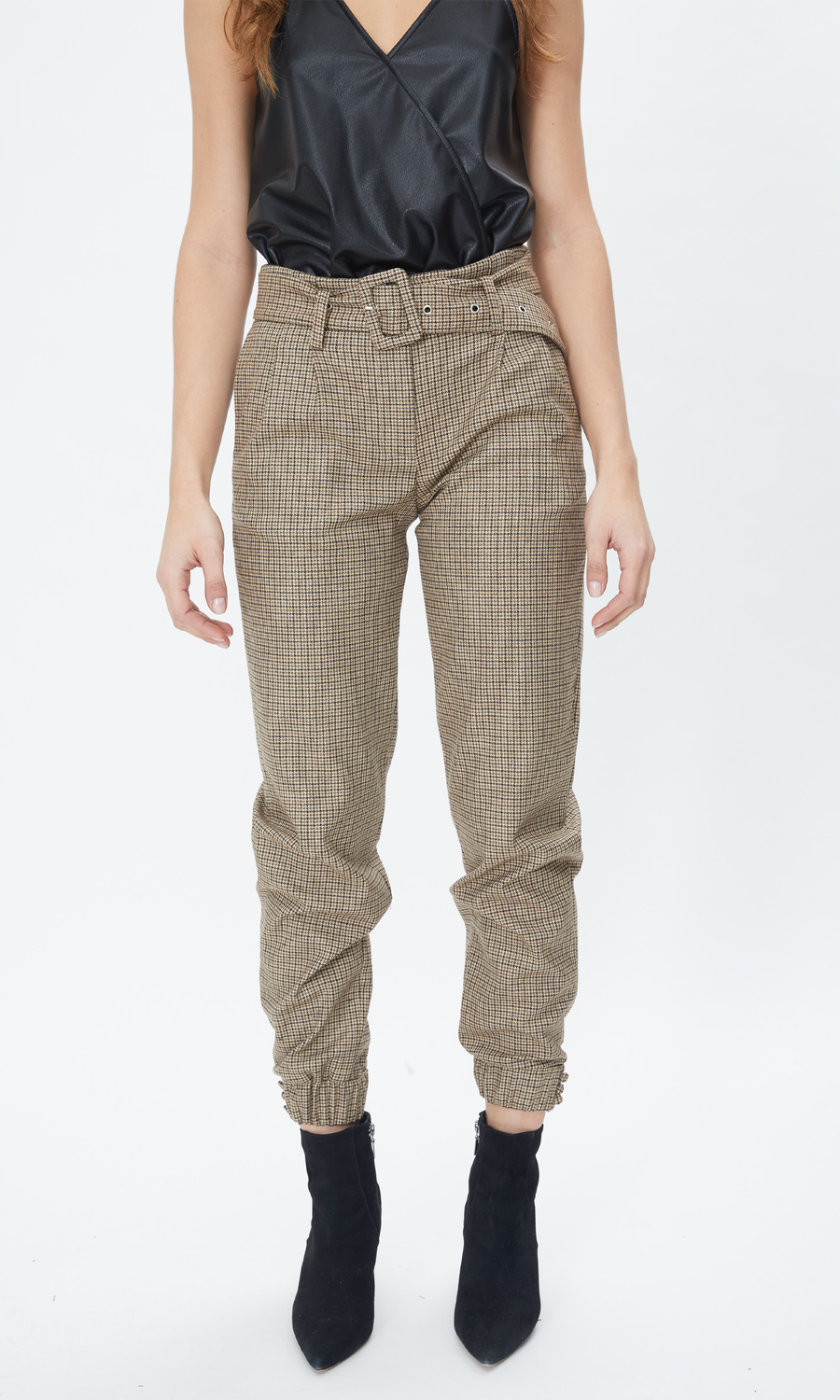 Doreen Mini Houndstooth Pants