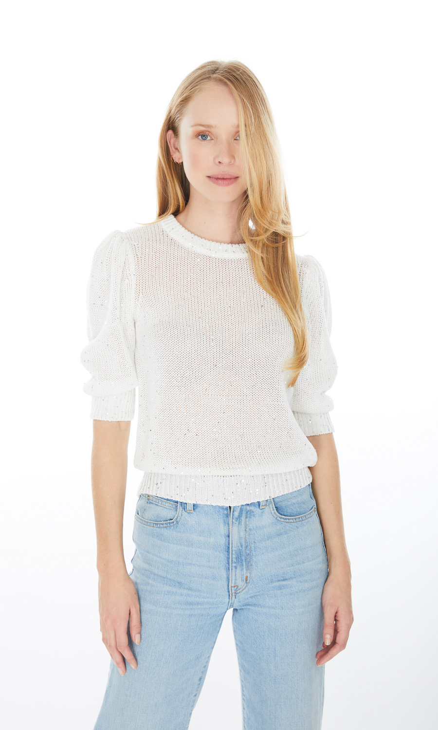 Mia Sequin Sweater