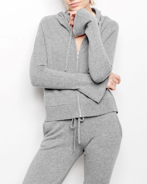 Ava Cashmere Hoodie Sweater