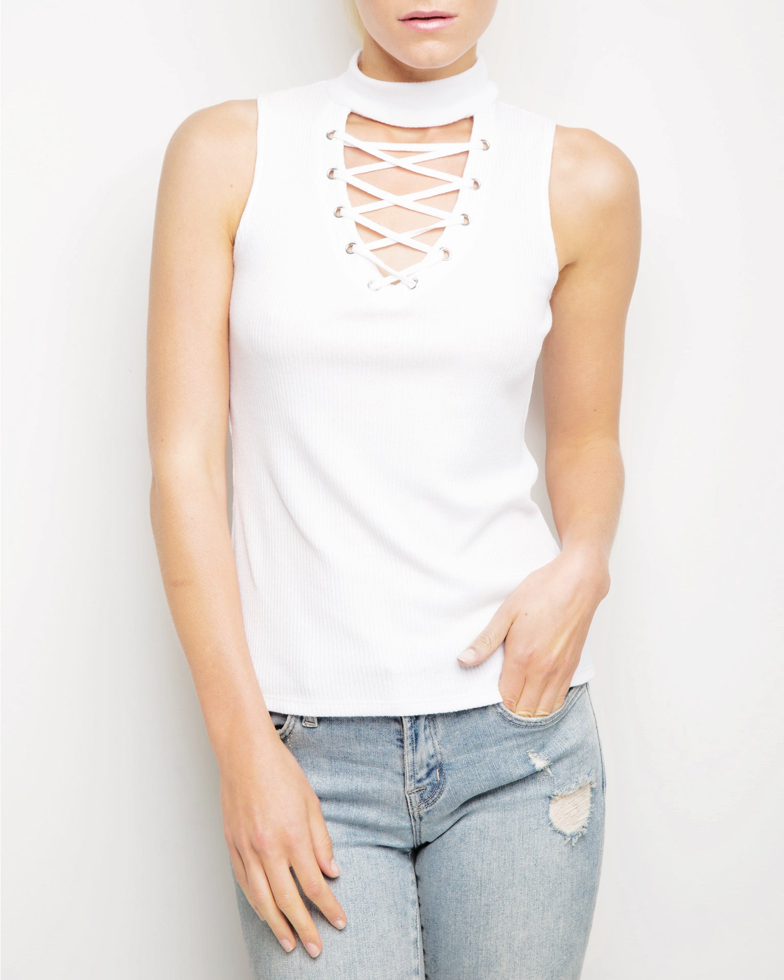 Cara Mock Neck Top