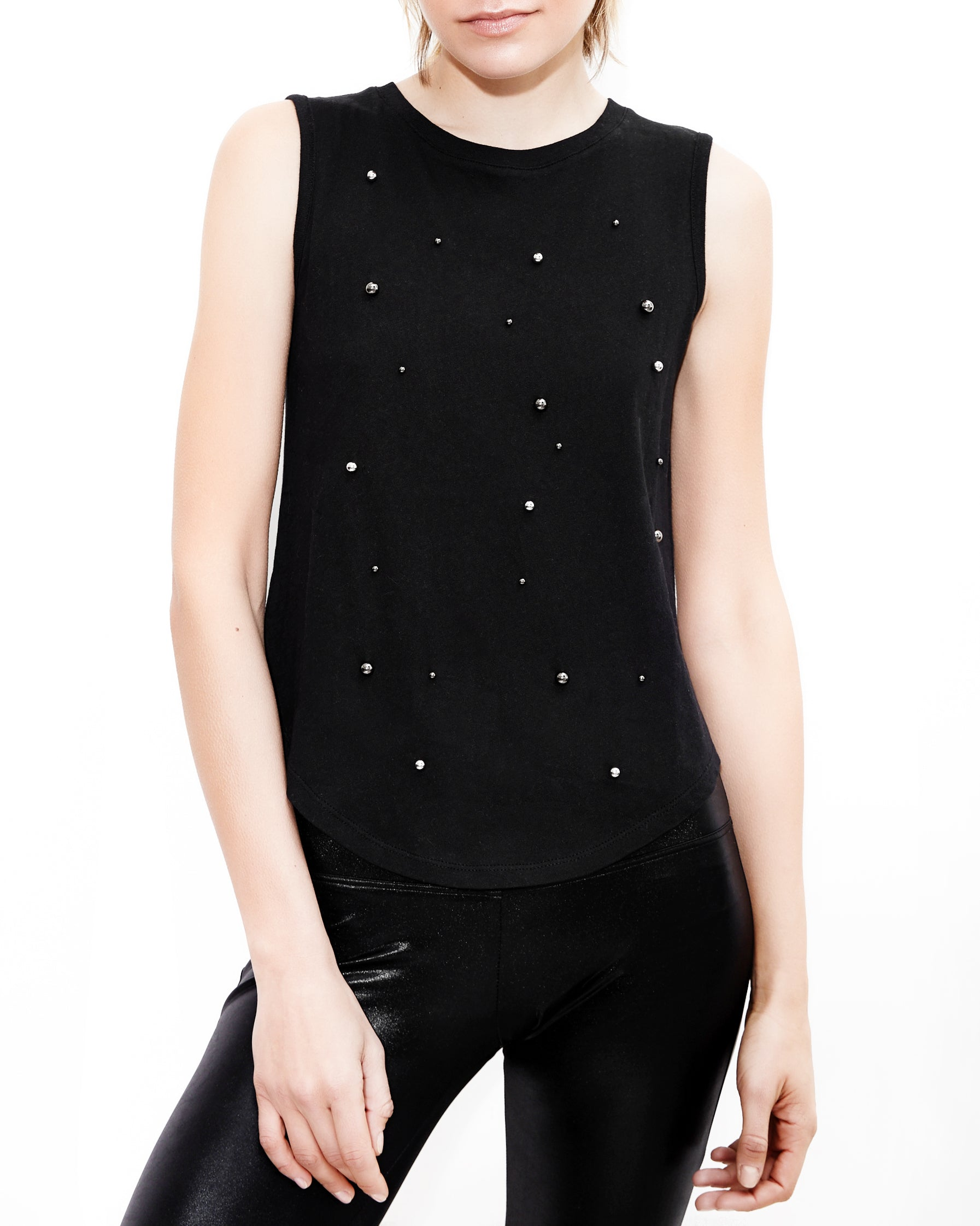 Daphne Pearls Black Top. Generation Love. NYC Modern Women's Clothing