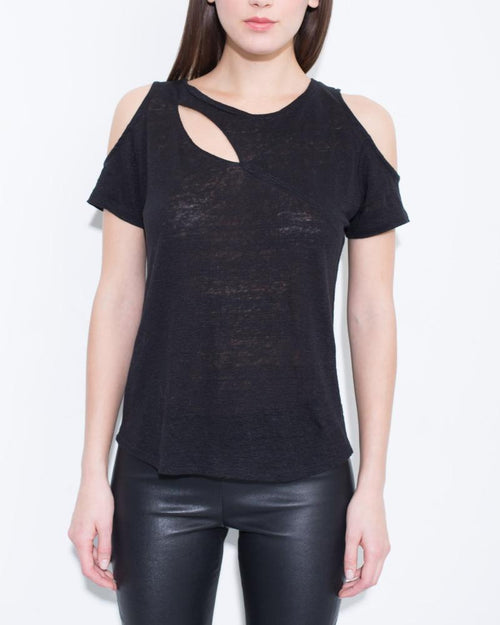 Fey Cut Out Tee