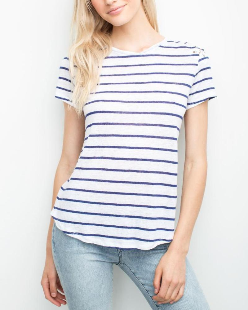 Finn Lace Up Tee