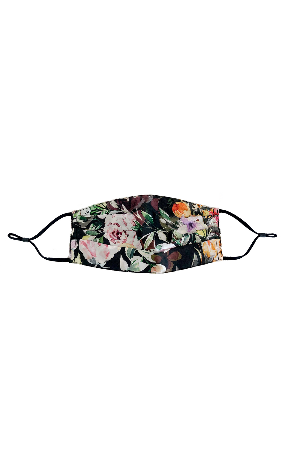 Silk Face Mask in Floral