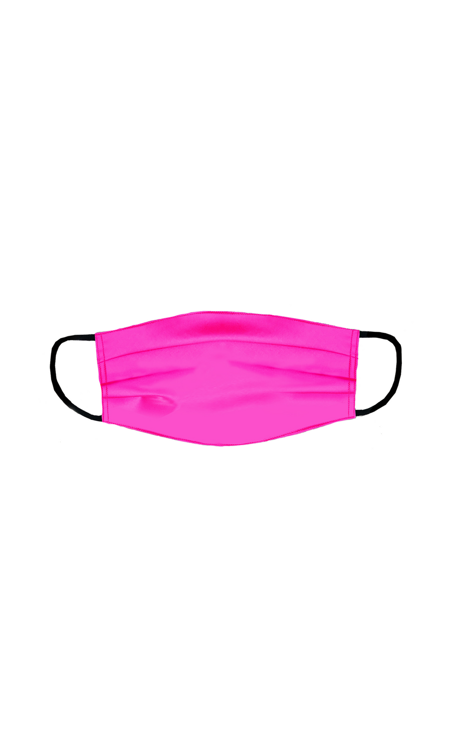 Silk Face Mask in Pink