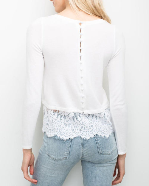 Jules Lace Top