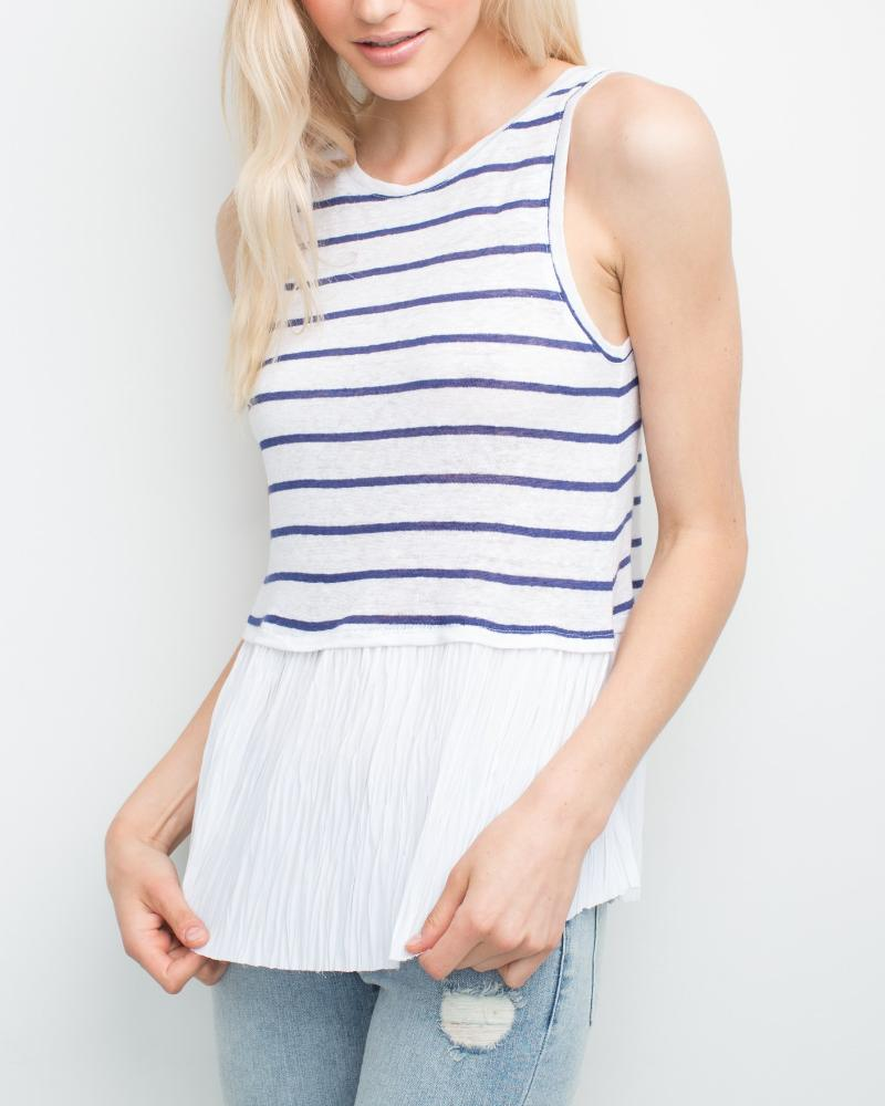 Marion Pleats Top