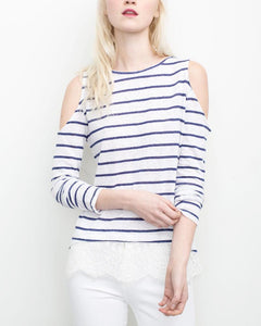 Martha Stripe Top