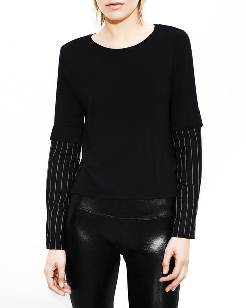 Olivia Black Top. Generation Love. NYC Modern Women's Clothing