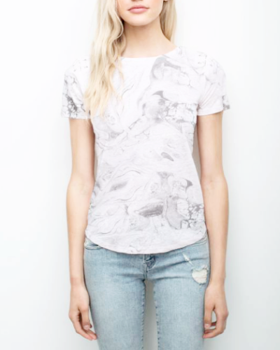 Graham Lace Up Tee
