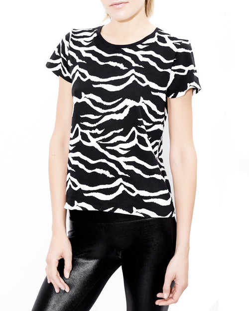 Weiss Zebra Shirt. Generation Love. NYC Modern Women's Clothing
