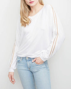 Barrymore Stripe Sweatshirt