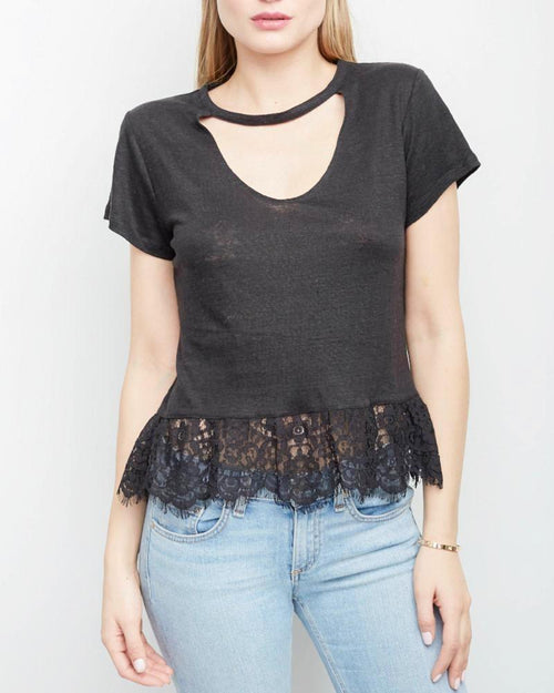 Cheryl Lace Top