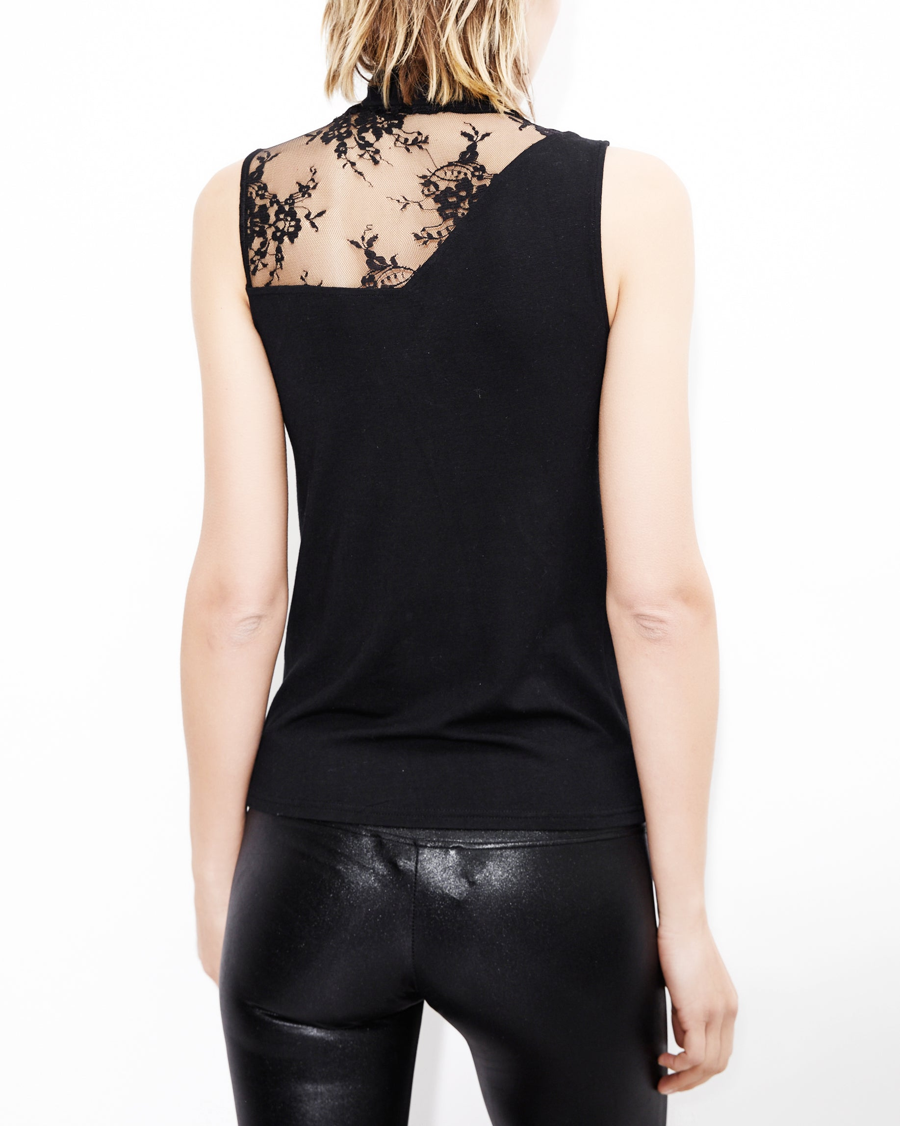 Harper Lace Black Top. Generation Love. NYC Modern Women's Clothing