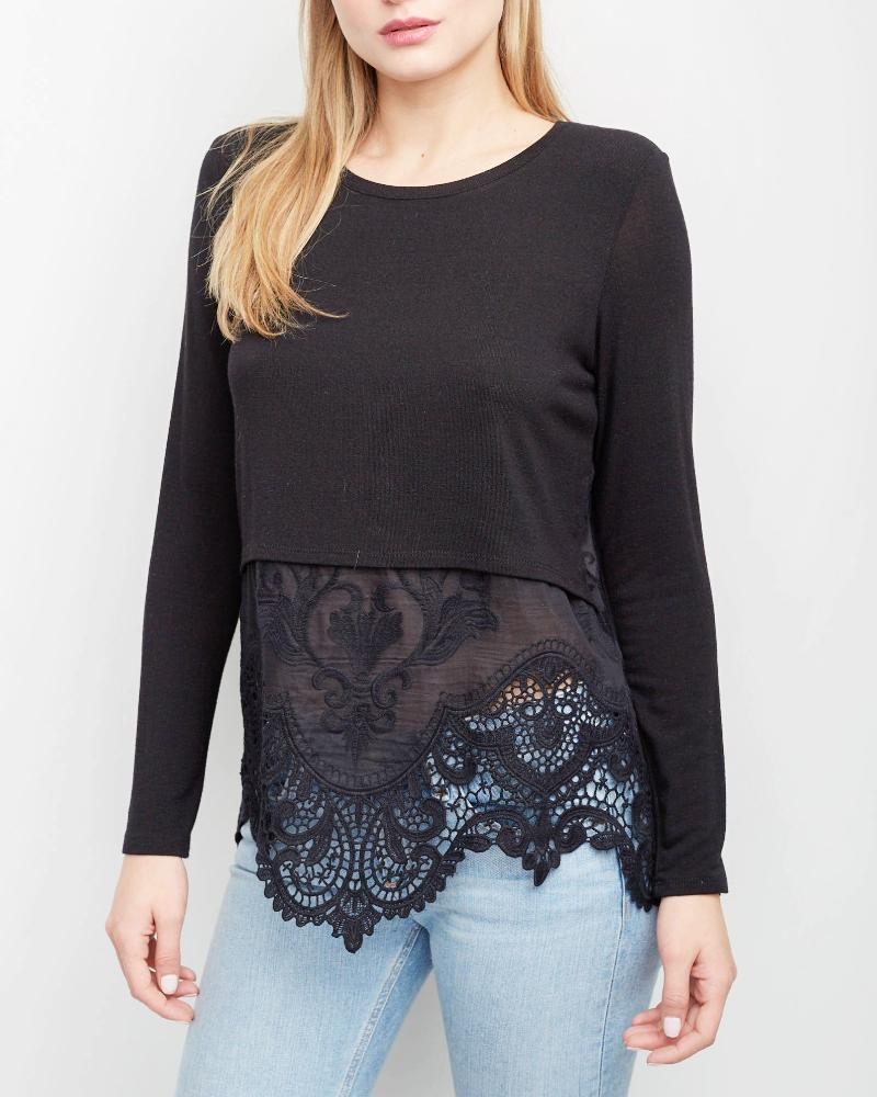 Millie Embroidery Top