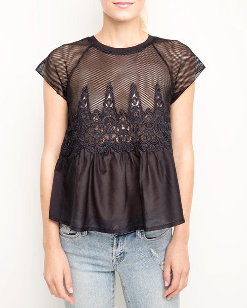 Quinn Embroidered Top