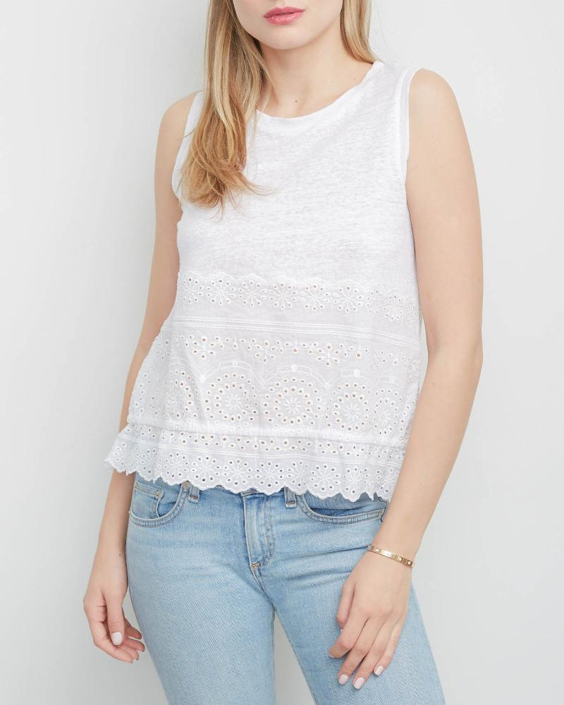 Sabina Embrodiery Top