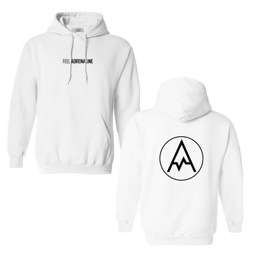 THE ORIGINAL HOODIE - WHITE // BLACK
