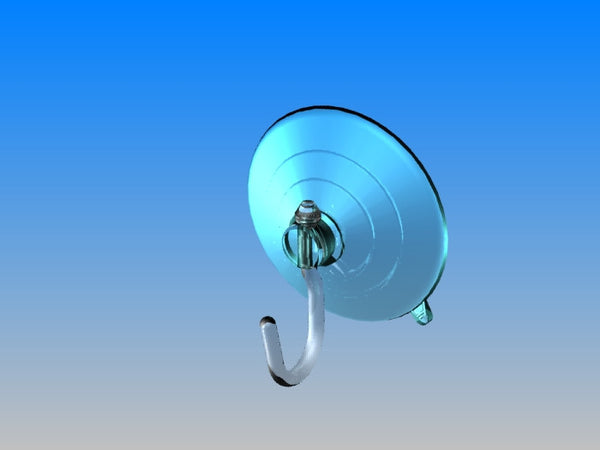 Large Suction Cup with Roto-Hook