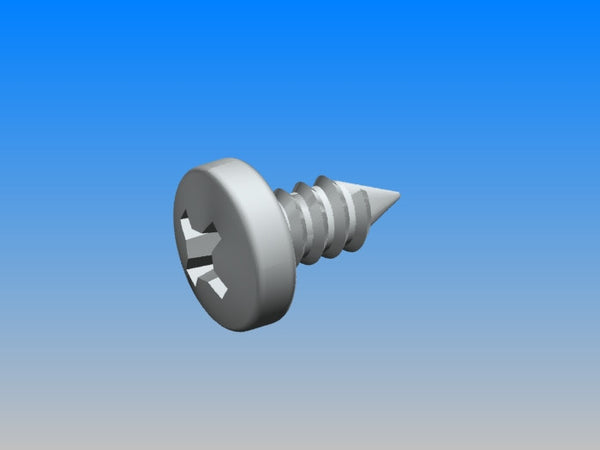 #8 Metal Screw (8mm)