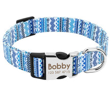 Load image into Gallery viewer, Personalised Dog Collar Pattern - Waggy Ways