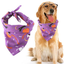 Load image into Gallery viewer, Pink Halloween Pet Dog Bandana [product_type] Luxury Dog Bow Ties and Collars - Waggy Ways