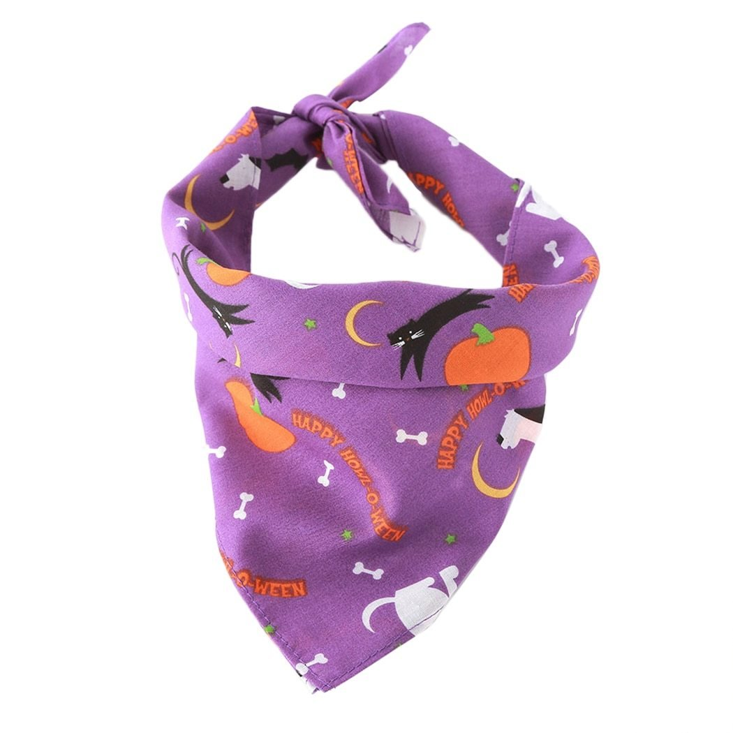 Pink Halloween Pet Dog Bandana [product_type] Luxury Dog Bow Ties and Collars - Waggy Ways