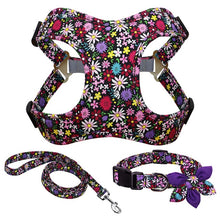 Load image into Gallery viewer, Beautiful French Bulldog Harness Leash And Collar Set