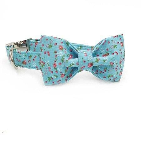 THE FLORAL [product_type] Luxury Dog Bow Ties and Collars - Waggy Ways