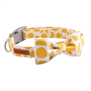 THE LEMON [product_type] Luxury Dog Bow Ties and Collars - Waggy Ways