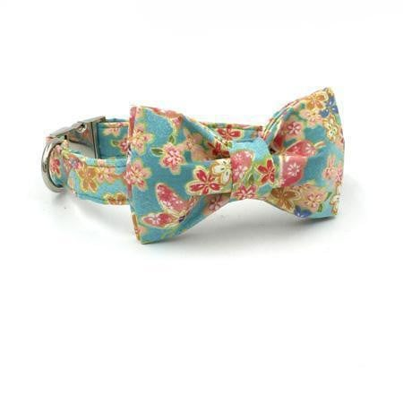 THE SOFT BREEZE [product_type] Luxury Dog Bow Ties and Collars - Waggy Ways