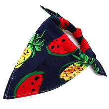 Load image into Gallery viewer, Watermelon Dog Bandana Fruit Print - Waggy Ways