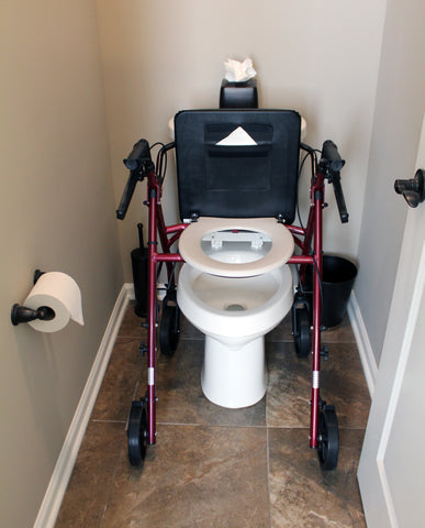 Free2Go Rollator Combining Bathroom Safety & Mobility