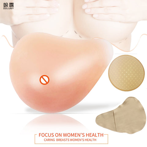Silicone POST MASTECTOMY Breast Prosthesis Super Soft Sponge Pad